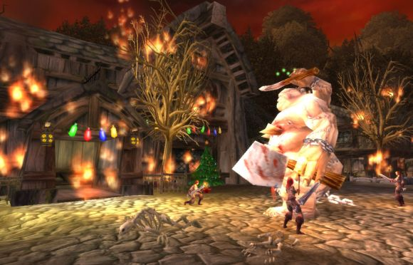 Around Azeroth Christmas Eve of destruction MONDAY
