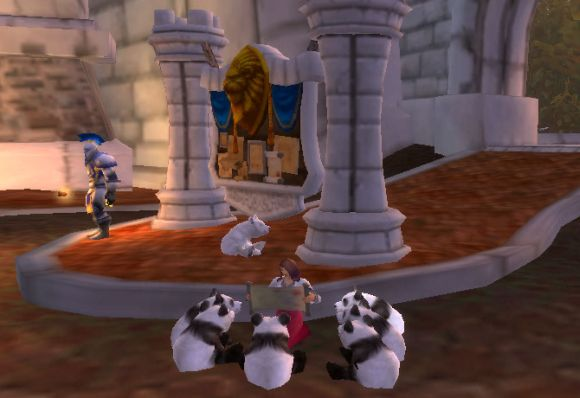 Around Azeroth It's story time for panda bears SUNDAY