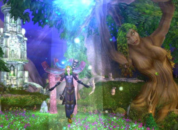 Around Azeroth Arboreal narcissism MONDAY