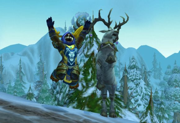 Around Azeroth Yay for winter! THURSDAY