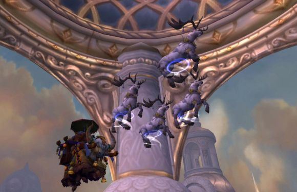 Around Azeroth When up on the roof there arose such a clatter WEDNESDAY