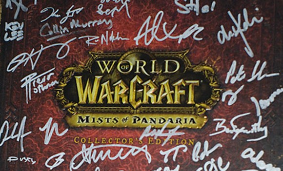 12 Days of Winter Veil Giveaway Signed Mists of Pandaria Collector's Edition