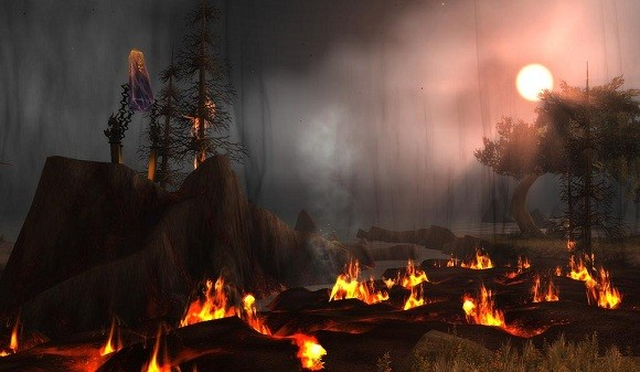Fires in the wake of the Cataclysm
