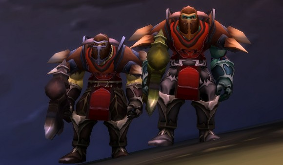 Transmog your way into the Kor'kron Overseers of Undercity