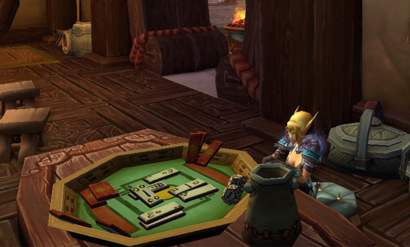 Why doesn't Mists of Pandaria have a Mahjong mini game
