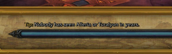 Your Alleria and Turalyon are in another castle