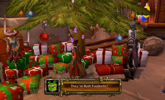 Reminder Don't forget your ingame Winter Veil gifts