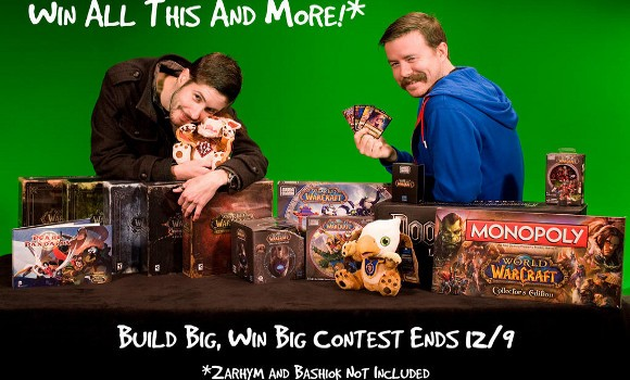 Mega Bloks sponsors World of Warcraft Build Big, Win Big contest