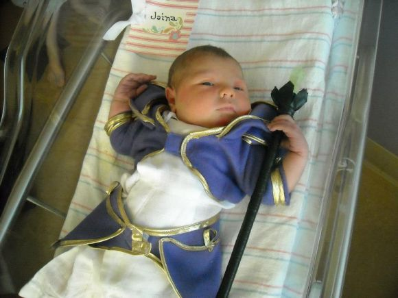 cosplay Wow Jaina bébé