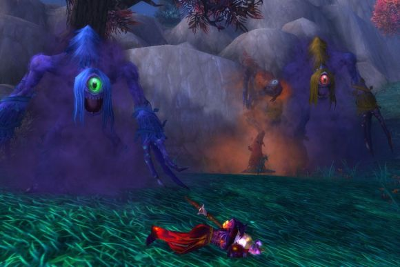 Around Azeroth Goldilocks and the three nightmares from beyond TUESDAY