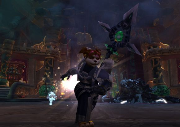 Around Azeroth Manic pixie dream pandaren MONDAY
