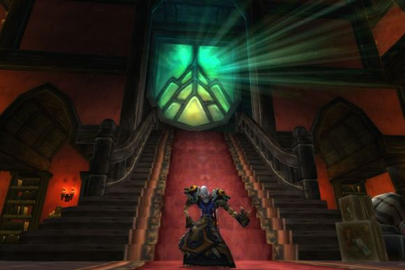 Around Azeroth I have many leatherbound books, and my apartment smells of rich mahogany SATURDAY