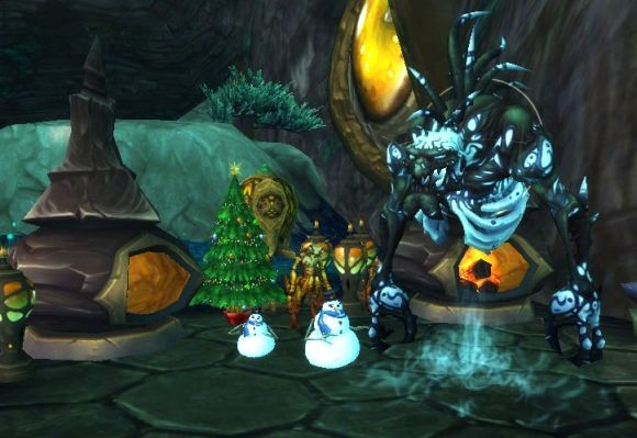 Around Azeroth A hazy sha of Winter Veil WEDNESDAY