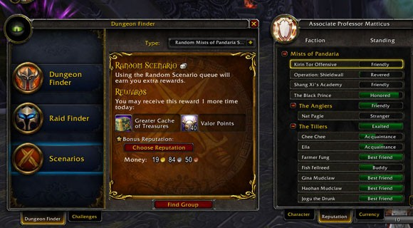 Untitled  Rep Rewards from Dungeon Finder