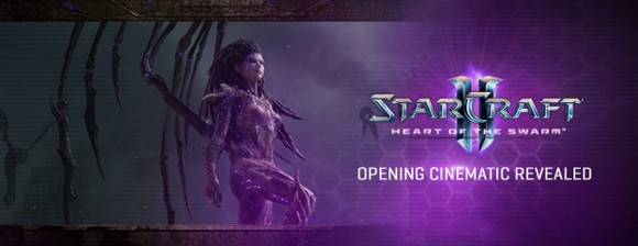 StarCraft II Heart of the Swarm cinematic revealed