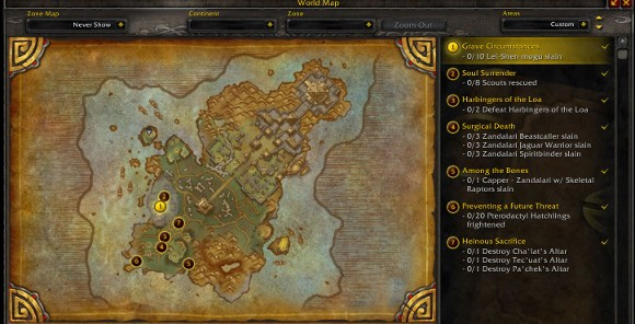 Patch 52 PTR  Isle of the Thunder King Preview