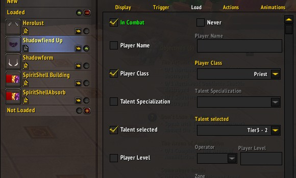 Addon Spotlight Weak Auras strings, and getting started with this powerful addon