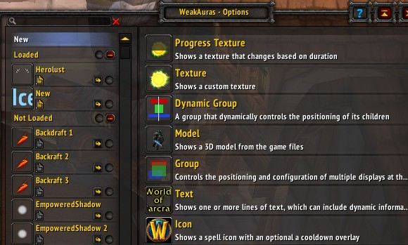 Addon Spotlight Getting into Weak Auras