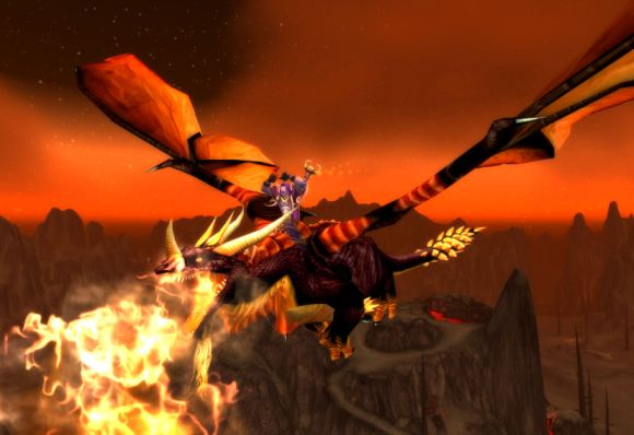 Around Azeroth How to flame your dragon MONDAY