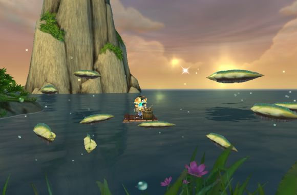 Around Azeroth And they were sustained by a rain of fish WEDNESDAY