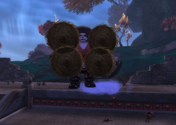 Around Azeroth Attack of the 500foot panda SATURDAY