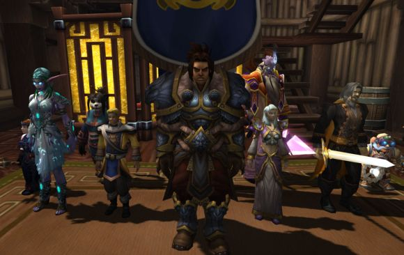 Around Azeroth Hail, hail, the gang's all here FRIDAY