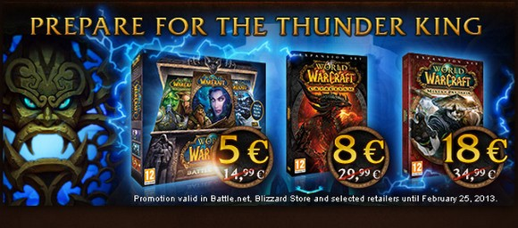 WoW goes on sale in the EU, US sure to follow