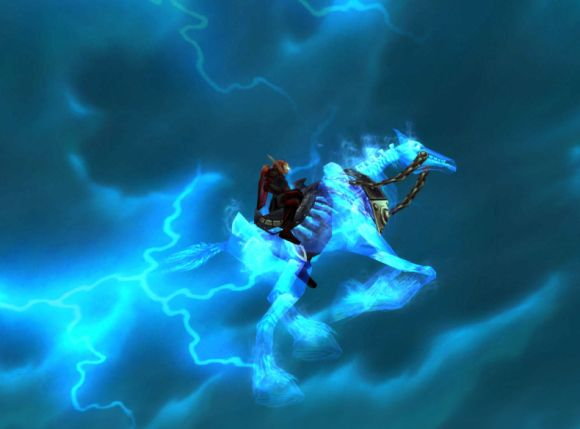 Around Azeroth Thunder was his engine and white lightning was his load SATURDAY