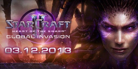 Starcraft II Heart of the Swarm launch schedule
