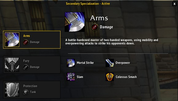 Is triple specialization coming to World of Warcraft