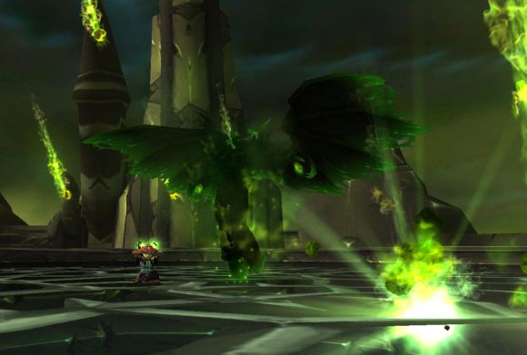 Around Azeroth Going green MONDAY