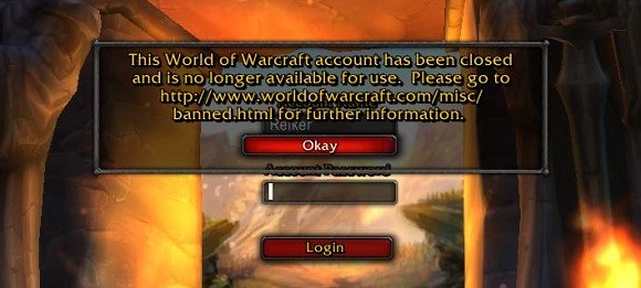 Banned notice