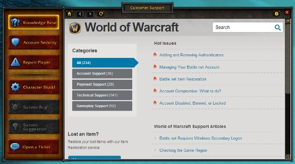 World of Warcraft to get an ingame browser in patch 53, sorta