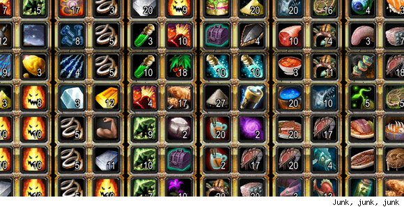 Breakfast Topic Spill your secrets for an organized guild bank