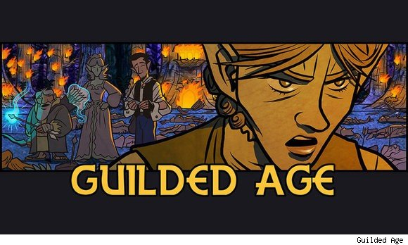 Sunday Morning Funnies Guilded Age    SUN
