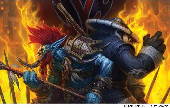World of Warcraft Vol'jin Shadows of the Horde cover reveal