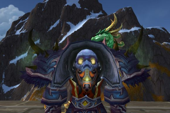 Around Azeroth Which is the mask and which is the face FRIDAY