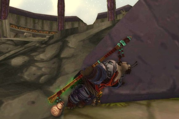 Around Azeroth Hanging by a limb SATURDAY