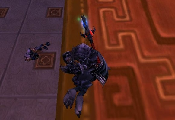 Around Azeroth Bad dog! Get off the carpet! TUESDAY