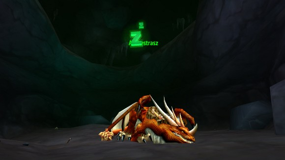The mystery of the dragon in Ahn'Qiraj
