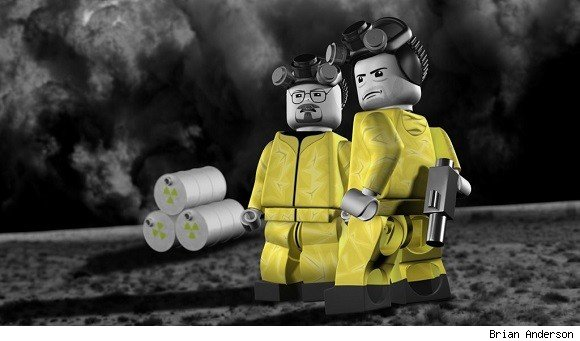 Breaking Bad as Legos