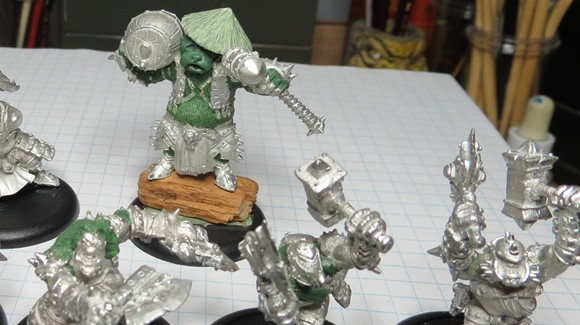 Hordebloods miniatures customizer keeps WoW in his blood