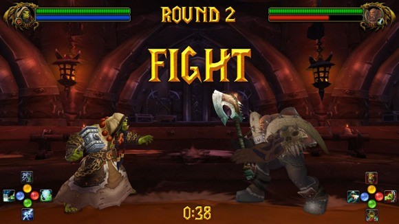 Would you play this mocked up Warcraft fighting game