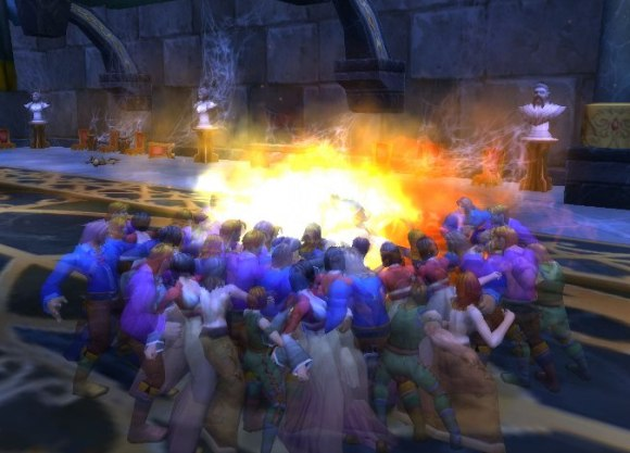 Around Azeroth There's an angry mob here to see you SUNDAY
