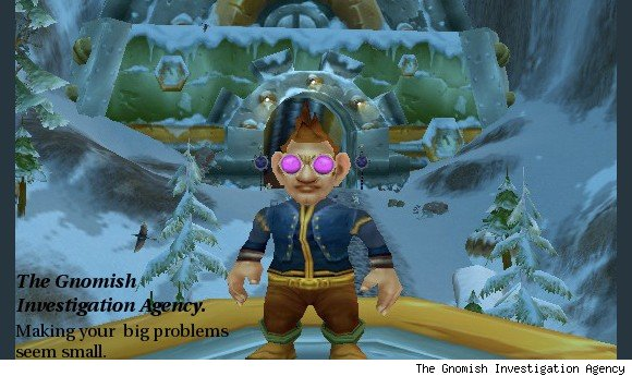 Sunday Morning Funnies Gnomish Investigation Agency SUN