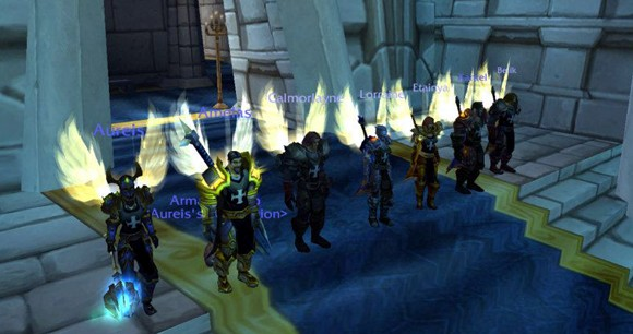 Fearsome paladin collective stands for the Light