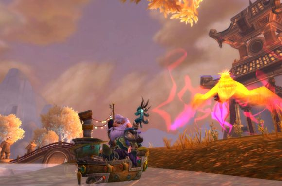 Around Azeroth Flight of the phoenix FRIDAY