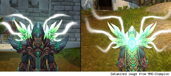 Legendary cloaks feature legendary spell effects for all druids included