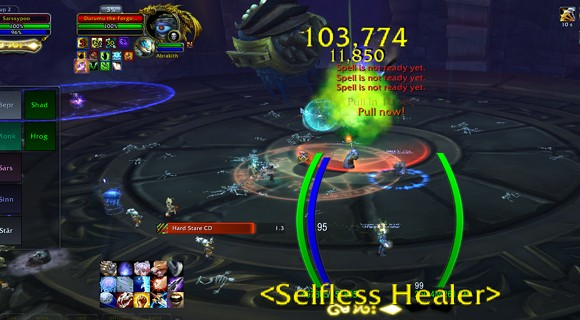 DeafVentless raiding guild slices silently through heroic ToT