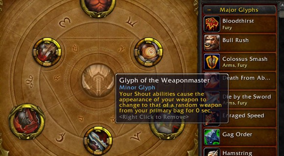 warrior glyphs